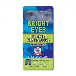 Ethos Bright Eyes – NAC Eye Drops for Glaucoma