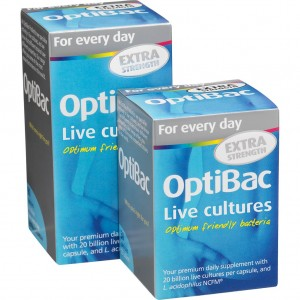 OptiBac Probiotics For daily wellbeing EXTRA Strength