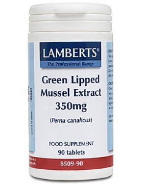 Lamberts Green Lipped Mussel Extract 350mg 90 tablets