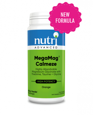 Nutri Advanced MegaMag Calmeze Magnesium Formula 270g powder orange