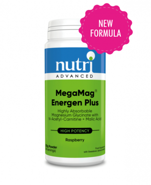 Nutri Advanced MegaMag Energen Plus Magnesium Formula Raspberry