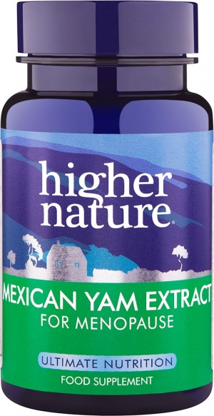 Higher Nature High Strength Mexican Yam 30 capsules