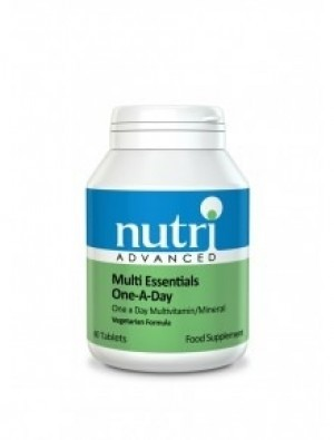 Nutri Advanced Multi Essentials One A Day 60 tablets