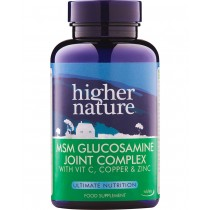 Higher Nature MSM Glucosamine Joint Complex 90 tablets