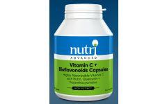 Nutri Advanced Vitamin C plus Bioflavonoids 100 capsules