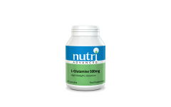 Nutri Advanced L-Glutamine 500mg capsules