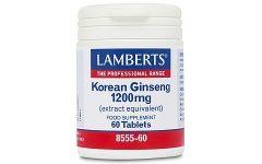 Lamberts Korean Ginseng 600mg 60 tablets