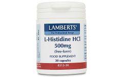 Lamberts L Histidine HCL 500mg
