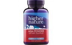 Higher Nature MSM Powder 200gram