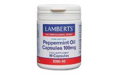 Lamberts Peppermint Oil 100mg 90 capsules
