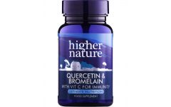 Higher Nature Quercetin & Bromelain 60 tablets