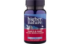 Higher Nature Nail and Hair Formula 120 capsules