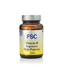 FSC Vitamin B Supreme High Potency 60 tablets