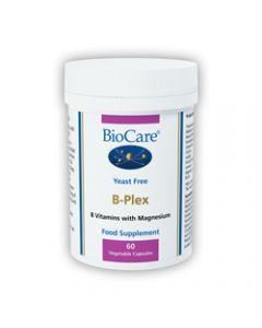BioCare B-Plex (without Folic Acid & Vitamin B12) 60 capsules