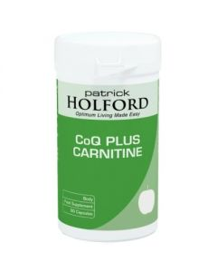 Patrick Holford Q10 Plus Carnitine 60 capsules
