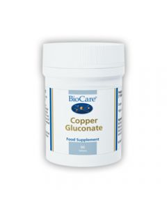 BioCare Copper Gluconate 90 Tablets