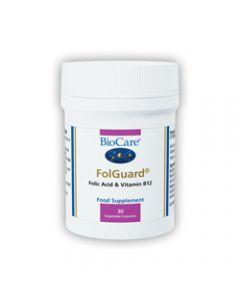 BioCare Folguard (Folic Acid & Vitamin B12) 30 Capsules