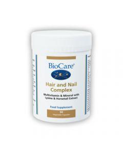 BioCare Hair & Nail Complex 90 Capsules