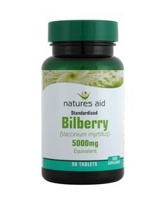 Natures Aid Bilberry