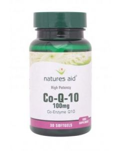 Natures Aid Co Enzyme Q10 100mg