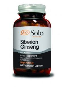 Solo Nutrition Siberian Ginseng