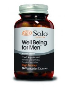 Solo Nutrition Well Being for Men