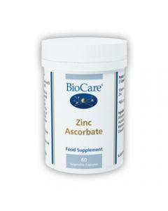 BioCare Zinc Ascorbate 60 Capsules