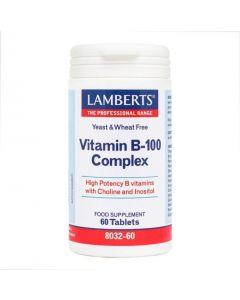Lamberts Vitamin B-100 Complex 60 tablets