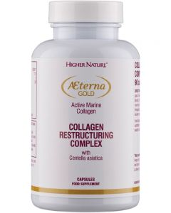 Higher Nature Aeterna Gold Collagen Restructuring Complex 90 capsules