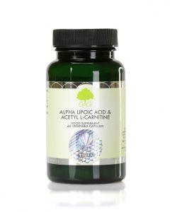 G&G Alpha Lipoic Acid 150mg and Acetyl L-Carnitine 100mg 60 Capsules