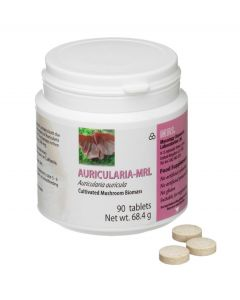 Mycology Research Auricularia MRL 500mg 90 tablets