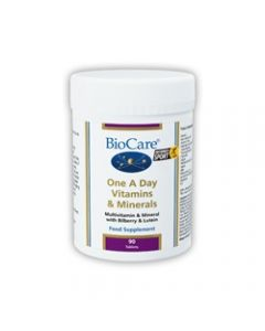 BioCare One A Day Vitamins and Minerals 90 tablets