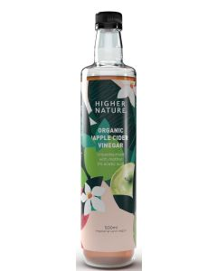 Higher Nature Organic Apple Cider Vinegar 500ml