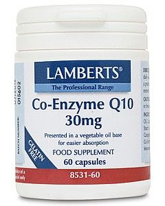 Lamberts Co Enzyme Q10 30mg 60 capsules