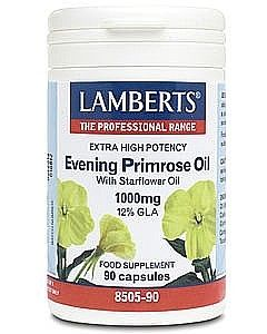 Lamberts Evening Primrose Oil with Starflower Oil 1000mg 90 capsules