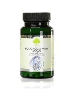 G&G Folic Acid (5-MTHF) 400µg 90 Capsules