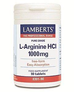 Lamberts L Arginine 1000mg