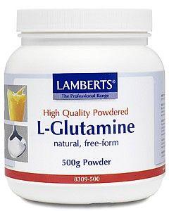 Lamberts L Glutamine 500gram powder