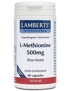 Lamberts L Methionine 500mg