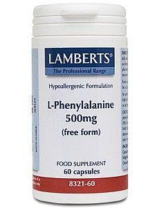 Lamberts L Phenylalanine 500mg