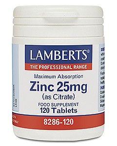 Lamberts Zinc 25mg 120 tablets