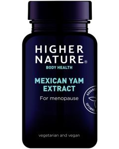 Higher Nature High Strength Mexican Yam 90 capsules