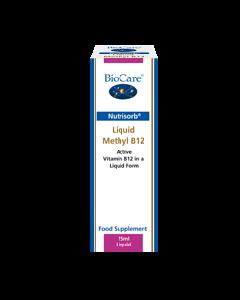 Biocare Nutrisorb Liquid Methyl B12 15ml