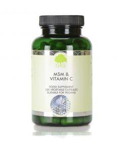 G&G MSM 500mg & Vitamin C 120 Capsules