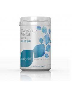 Nutrigold EPA Marine Fish Oils 120 capsules