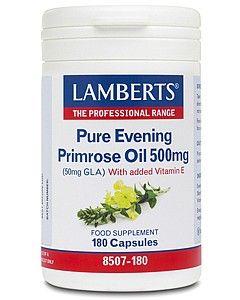 Lamberts Pure Evening Primrose Oil 500mg 180 capsules