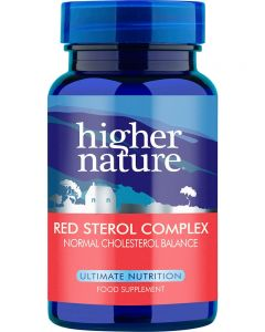 Higher Nature Red Sterol Complex 90 tablets