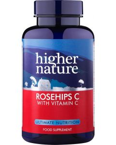 Higher Nature Rosehips C 90 tablets