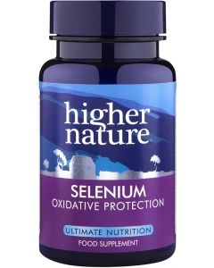 Higher Nature Selenium (selenomethionine) 60 tablets