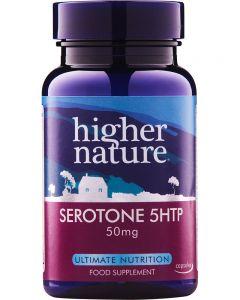 Higher Nature Serotone 5 HTP 50mg 30 capsules